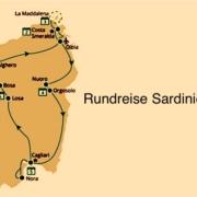 Round trip Sardinia