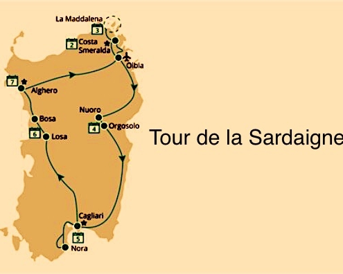 Tour de la Sardaigne